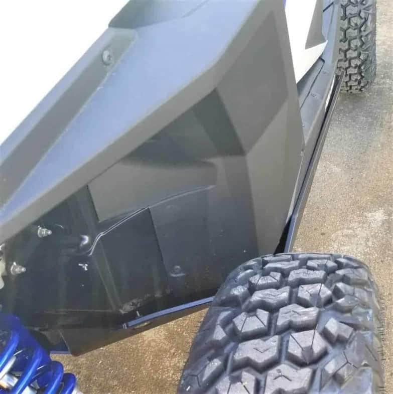 Polaris Rzr Pro Xp Full Skid Plate With Rock Sliders