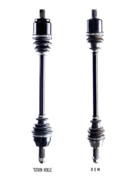Polaris Ranger Axles, Titan Edition New Models
