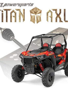 Polaris Rzr S Series Axles, Titan Edition