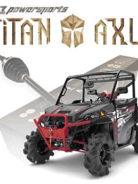 Polaris Ranger High Lifter Axles, Titan Edition
