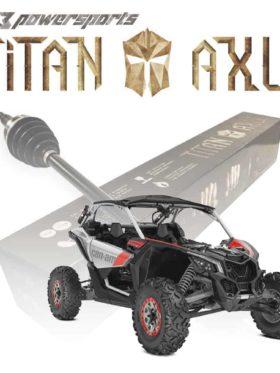 Can-am Maverick X3 Axles, 72″ Wide None Smart-lok