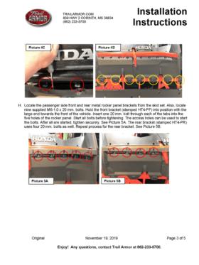 Honda Talon 1000x-4 Full Skid Plate