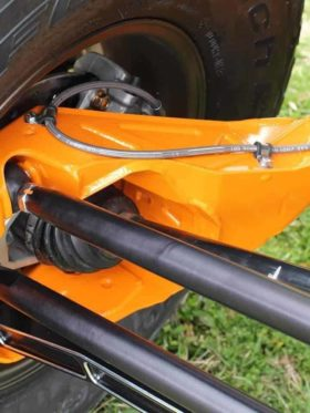 Can-am Maverick X3 Radius Rod Set, 72″ Hc Billet Edition