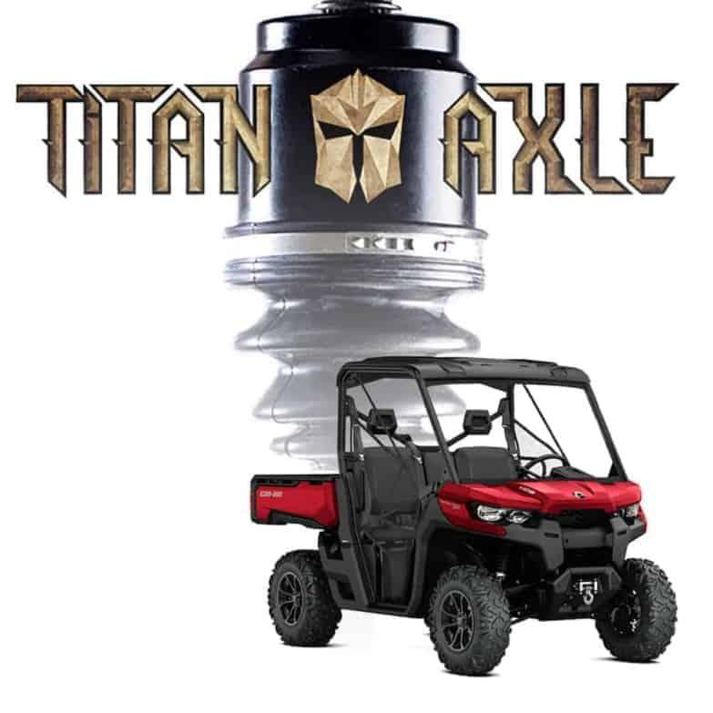 Can-am Defender Titan Axles