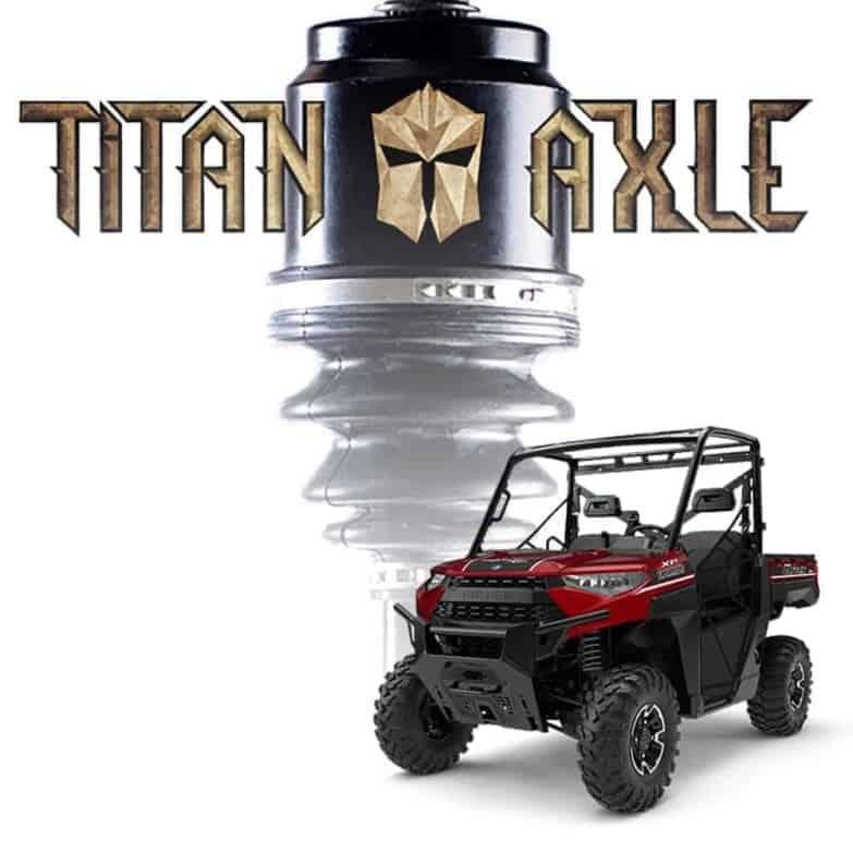 Polaris Ranger +6″ Titan Axles