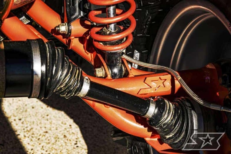 Can-am Renegade/outlander Raked Hd Trailing Arms
