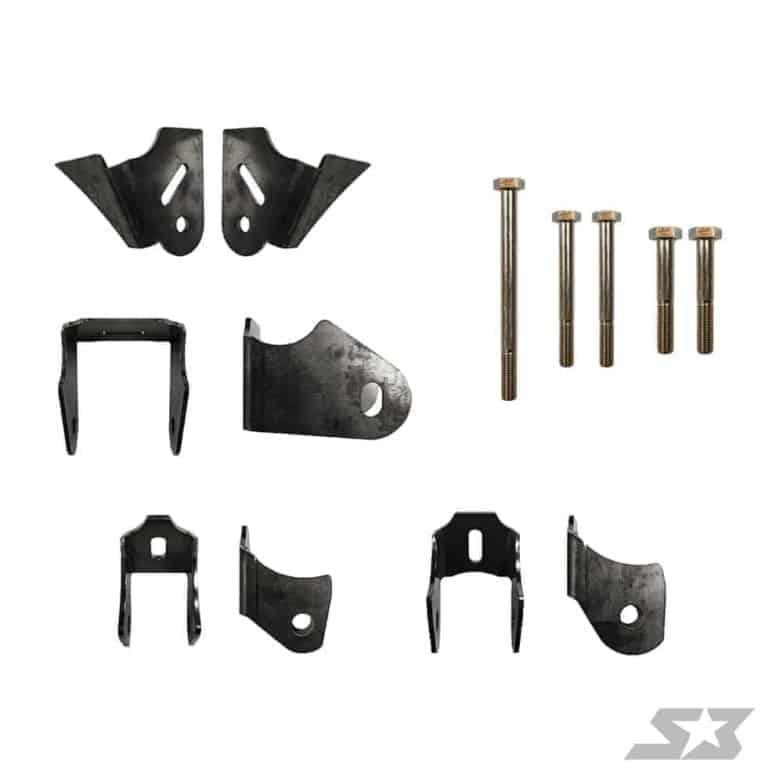 Can-am Maverick X3 Powertrain Weld-in Gusset Kit