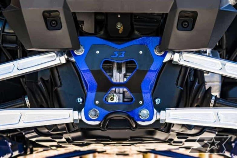 Polaris Rzr Xp Turbo S Double Shear Radius Rod Plate