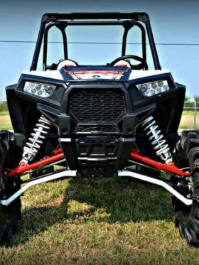 Polaris Rzr Xp Series +2″ Forward High Clearance A-arms