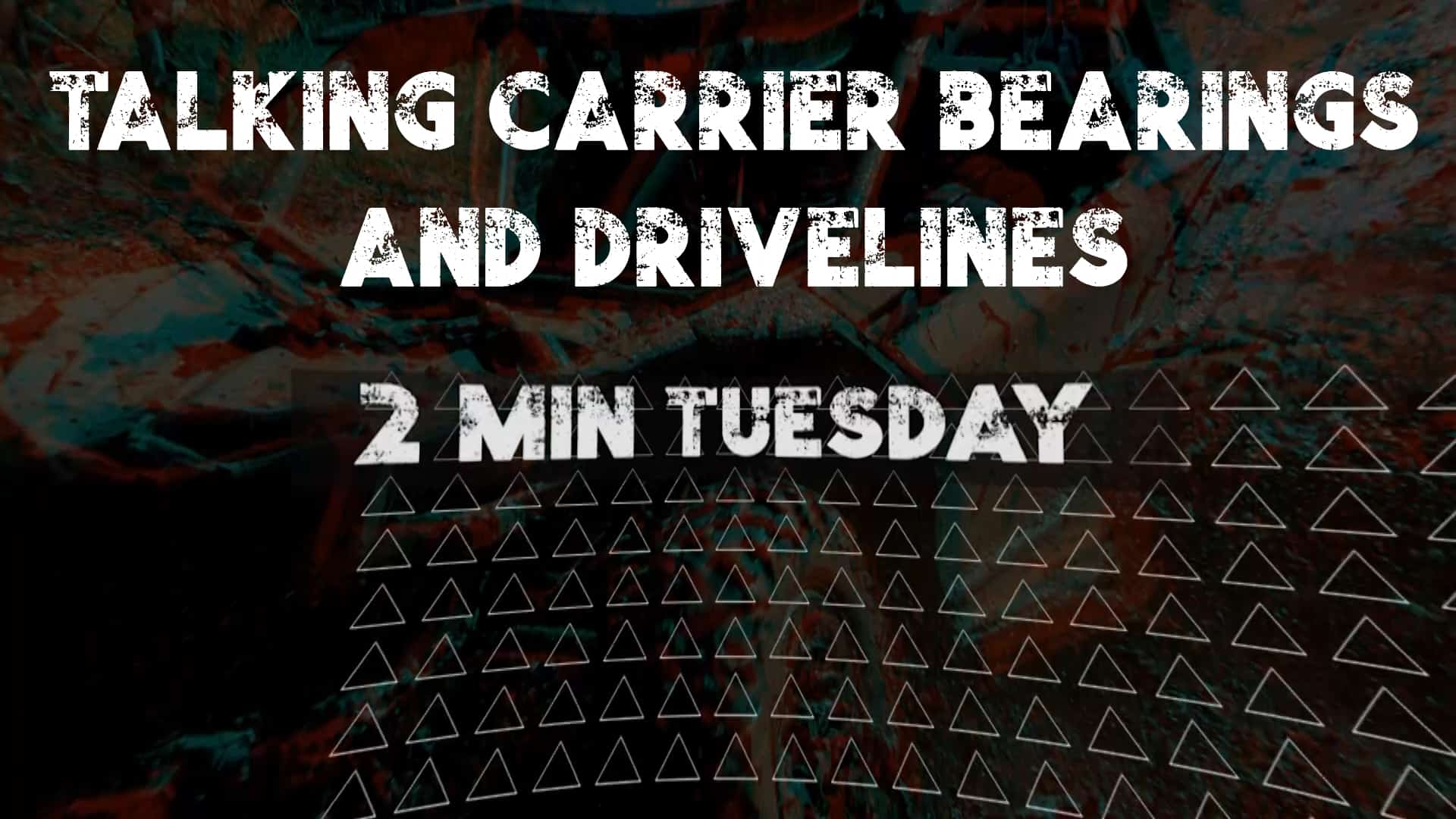 We Are Chatting UTV Carrier Bearings & Drive Lines