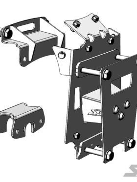 Can-am Maverick X3 Front Chassis Gusset Kit