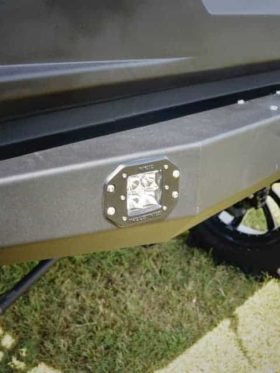 Polaris Ranger Rear Winch Bumper
