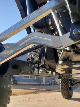 Polaris Rzr Xp Series 1 Heim Adjustable Hc Radius Rod Set