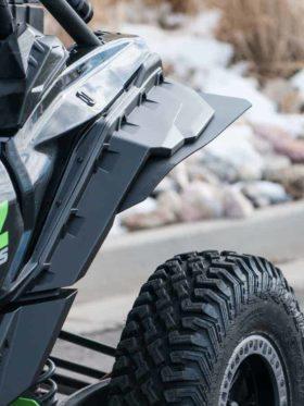Can-am Maverick X3 Mud Flaps, Fender Extensions