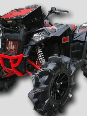 Polaris Scrambler Radiator Relocate Kit