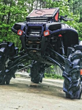 Polaris Sportsman Radiator Relocate Kit