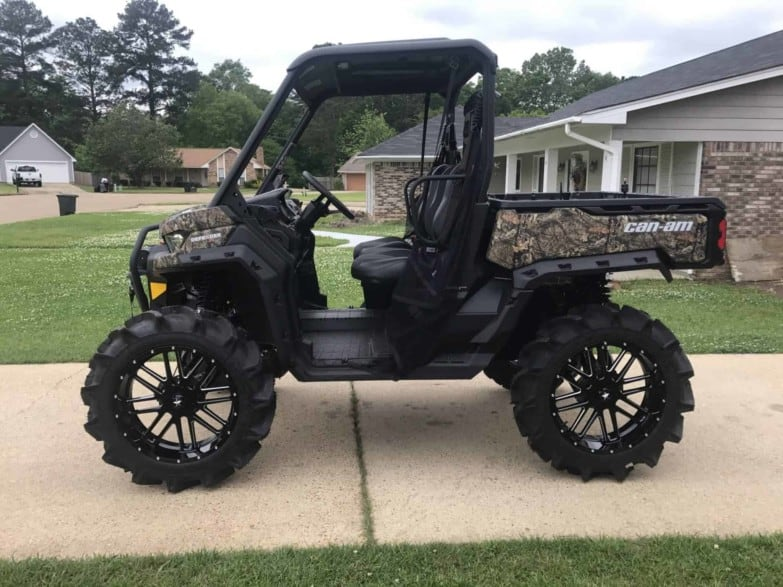 Can-am Defender Hc Arched A-arms + Lift