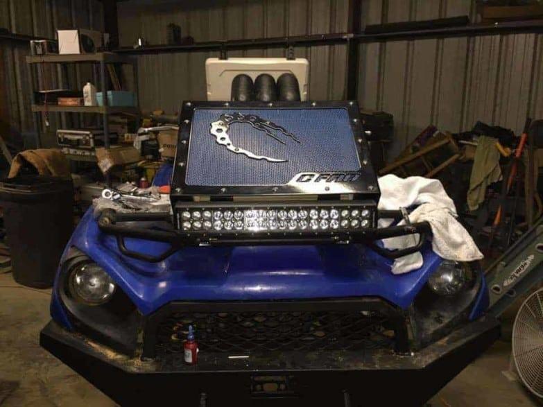 Kawasaki Brute Force Radiator Relocation Kit