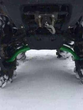Kawasaki Brute Force Hc Arched Lower A-arms
