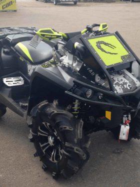 Can-am Outlander Radiator Relocate Bumper