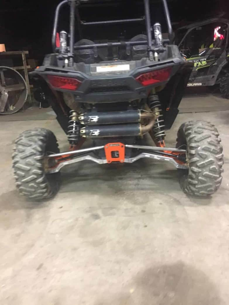 Polaris Rzr Xp Series 2 Heim Adjustable Hc Radius Rod Set