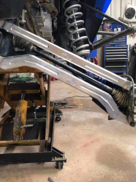 Polaris Rzr Xp Turbo S Adjustable Radius Rod Set