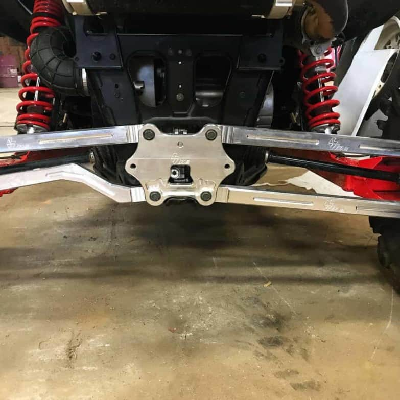 Polaris Rzr Xp Turbo S Radius Rod Plate
