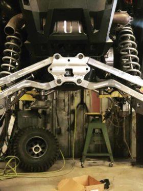 Polaris Rzr Xp Turbo S Radius Rod Plate