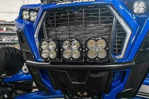 Polaris Rzr Xp Turbo S Half Bumper