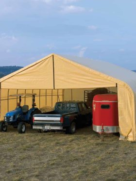 Sp Series Shelter, Peak Style Building Kit.
