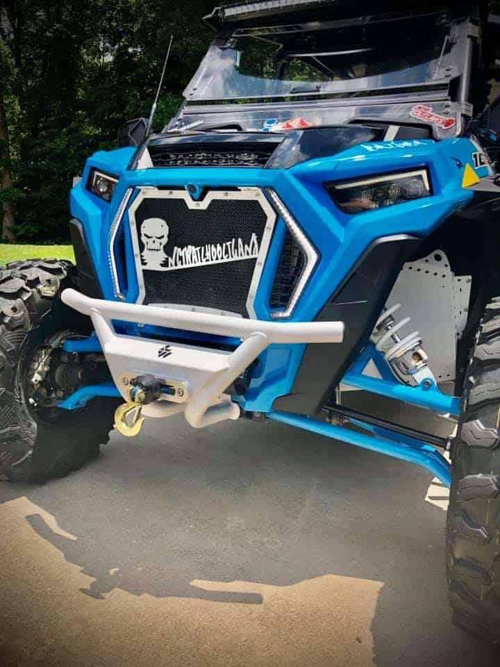Polaris Rzr Xp Series Low Profile Front Race Winch Bumper