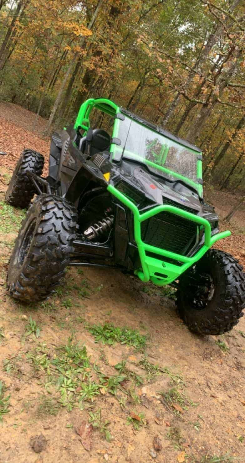 Polaris Rzr Xp Series Front Winch Bumper, Full Protection