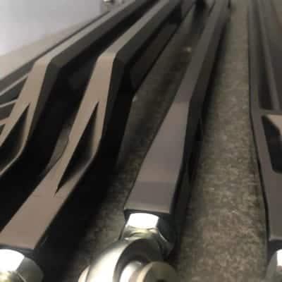 A F Black Radius Rods