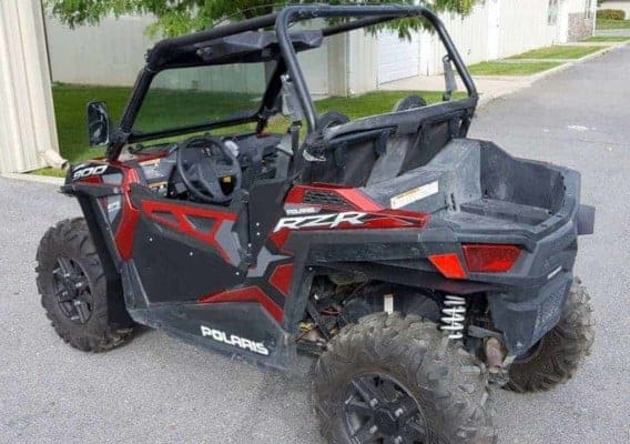Polaris Rzr 900 Mud Flap Fender Extensions