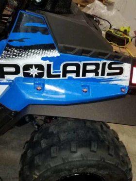 Polaris Rzr 170 Mud Flap Fender Extensions