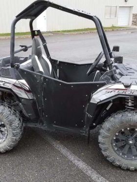 Polaris Ace Mud Flap Fender Extensions