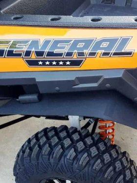 Polaris General Mud Flap Fender Extensions