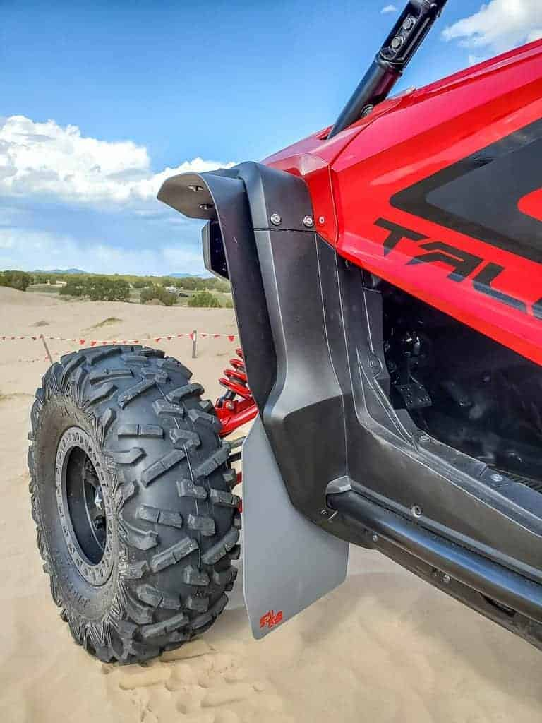 Honda Talon Mud Flap Fender Extensions
