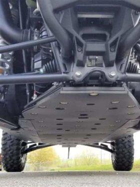 Polaris Rzr Pro Xp 4 Full Skid Plate With Rock Sliders