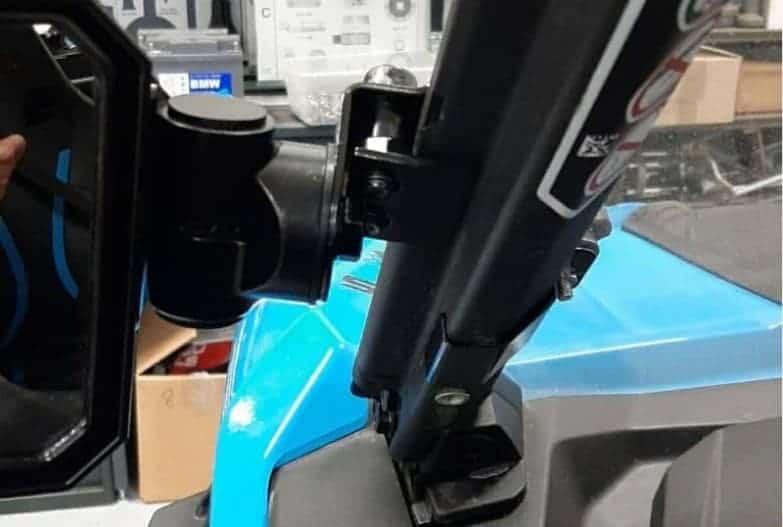 Utv Adjustable, Folding Side Mirrors