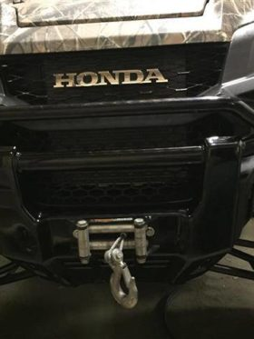 Honda Pioneer 1000 Winch Mount Bracket
