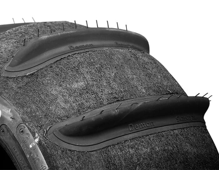 Utv Sand Paddle Tires, Demon Edition Set