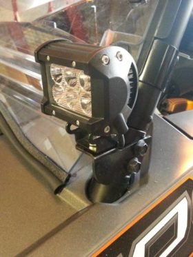 Polaris Rzr Cage Light Mounts