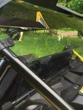 Yamaha Yxz 1000r Rear Windshield