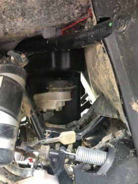 Honda Talon Under Hood Storage