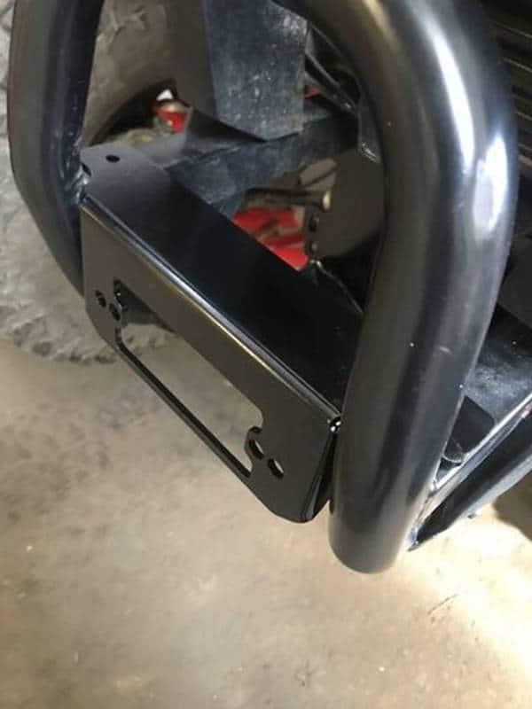 Honda Talon Winch Mount Plate