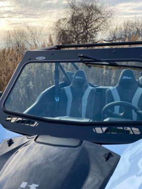 Kawasaki Krx 1000 Glass Windshield