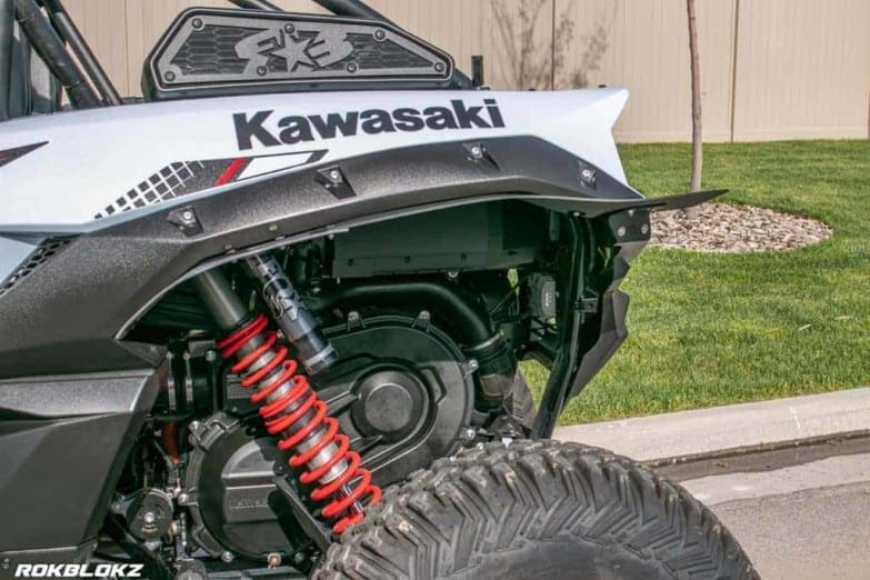 Kawasaki Krx 1000 Fender Extensions, Mud Flaps