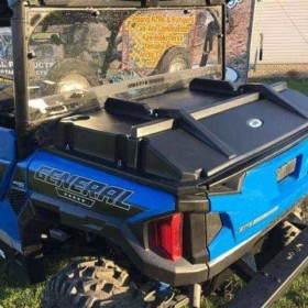 Polaris General Bed Cover, Rear Cover Protection