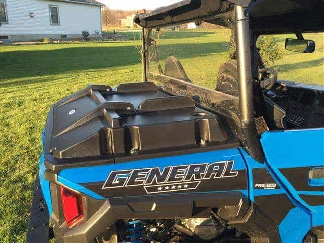 Polaris General Rear Bed Cover